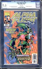ALPHA FLIGHT  #17 CGC 9.6 WHITE PAGES FIRST BIG HERO 6