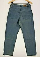 Mens Paul Smith Teal Cobalt Blue Denim Jeans Classic Fit 5-Pocket W30 L32 VGC