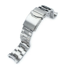 Super 3D Oyster Metal Watch Bracelet for SKX007, Button Chamfer Clasp