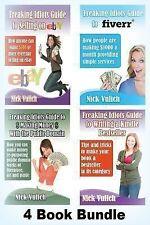 Freaking Idiots Guides: Freaking Idiots Guides 4 Book Bundle Ebay Fiverr...