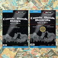 Modern ~Premade~ 10 Comic Book Bags and Boards