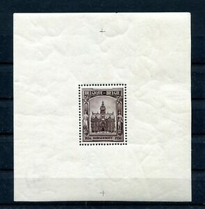 1936.BELGICA.BELGIQUE.HOJA Block Yvert 5 .nuevo. (MH) .catalogo