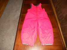 Lands' End boys snow pants bibs size 3T Mint cond 3 T red winter