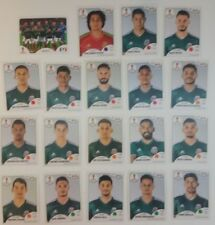 MEXICO  Panini FIFA World Cup Russia 2018 Stickers Lot of 19 Stickers team set