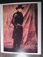 8X10 COLOR PHOTOGRAPH AUTOGRAPH SIGNED BY HANK WILLIAMS JR. LIFETIME COA.