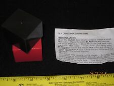 """In N Outer Box Magic Trick Large 1 1/2"""" Close-Up, Pocket, Street, Paradox Boxes"""