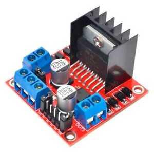L298N Module Dual H Bridge Drive Board for DC Stepper Motor Smart Car Raspberry