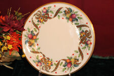 LENOX Holiday Tartan Accent Plate New Second Quality USA
