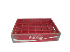 Coca-Cola  24-pocket Red Wood Crate *Reproduction* - BRAND NEW