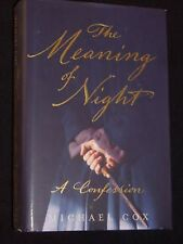 Michael Cox-The Meaning of Night: A Confession-2006-1st-British Thriller HB/DJ