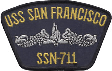 US Navy USS San Francisco CA-38 New Orleans Embroidered Patch ** LAST FEW **