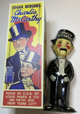 Great Working 1938 Marx Charlie McCarthy Tin Windup Walker Toy Working