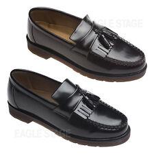 Mens Classic Kiltie Tassel Loafer Casual Slip Ons