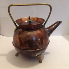 BENHAM AND FROUD COPPER KETTLE PROBABLY DESIGNED BY DR CHRISTOPHER DRESSER