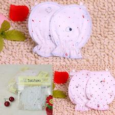 Premium bequem Neugeborene Fäustlinge Anti-Kratzen warm Handschuhe aus Baumwolle