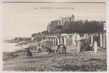 France postcard - Concarneau - Vue generale de la Plage (A34)