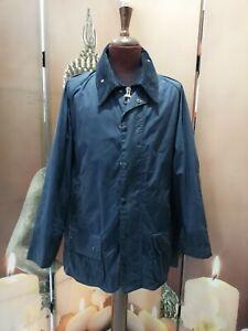 barbour beaufort jacket waxed cotton giacca  blu  c48-122 xl