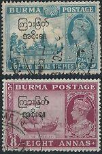 Royalty Burmese Stamps (Pre-1948)