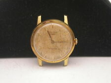 VINTAGE 18K GOLD LONGINES AUTOMATIC MANS WATCH NO RESERVE