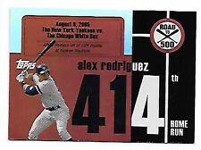 ALEX RODRIGUEZ   2007 TOPPS   ROAD TO 500 #414 SP