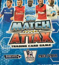 Match Attax 13/14 Complete Base Cards And Managers