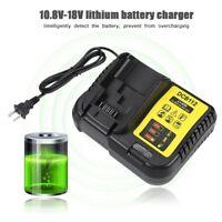 10.8V-18V Intelligent Li-ion Lithium Battery Charger 50/60HZ for De-Walt DCB112