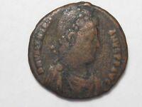 Ancient Roman Coin: Valentinian II (383-88 AD) Æ Follis. Antioch 635; Sear 20286