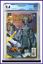 Fantastic Four #v2 #9 CGC Graded 9.4 Marvel July 1997 White Pages Comic Book.
