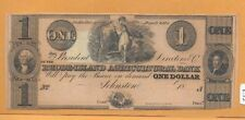 USA RHODE-ISLAND AGRICULTURAL BANK 18xx 1 DOLLAR VF VERY RARE!!!