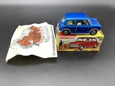 Dinky 183 Morris Mini Minor Auto - N Mint In Original Box With Rare Leaflet