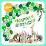 Safari Jungle Theme Birthday Children Party Decorations Animal Balloons Kids DYI