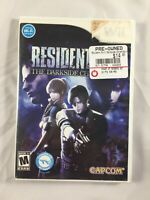 Resident Evil: The Darkside Chronicles (Nintendo Wii, 2009) Complete and Tested!