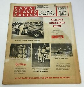 Cavalcade of Auto Racing Dec- Jan 1970-1971