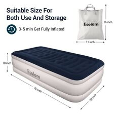 Air Bed No Leakage Mattress With Rechargeable Pump for Camping Home Big Bed