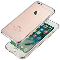 For New Apple iPhone 6S/6 Crystal Clear Thin Back TPU Gel 360° Skin Case Cover