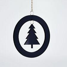 Christbaum Schmuck Weihnachtsbaum Anhänger schwarz 2854 Acryl Fensterhänger