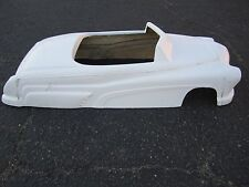 1951 Mercury hot rod stroller pedal car fiberglass body rat rod Carson Top