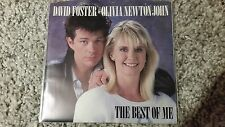 David Foster & Olivia Newton-John - The best of me US 7'' Single MIT COVER