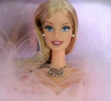 Barbie 2002 Collector Edition Pink Glittery Gown NRFB MINT 2002 NECKLACE