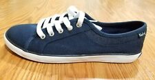 Keds Women's Navy Blue White Coursa Jersey Denim Sneaker Shoes size 6