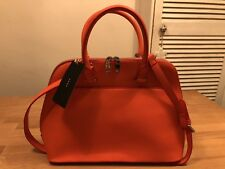 ZARA WOMAN Shoulder Bowler Handbag! Orange! New! Only £39,90!!!