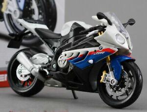 Maisto 1:12 BMW S 1000 RR self assembly Toy model Motorcycle motorbike White