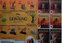 MCDONALD'S 2019 THE LION KING COMPLETE SET OF 10 + 6 STICKERS - ON HAND