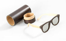 Hi-SHOCK® passive 3D-Brille für 4k TV / Kino / Heimkino mit RealD Tech. | + Etui