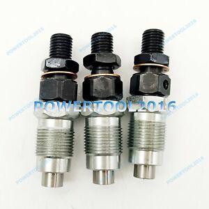 3 x Fuel Injector for Yanmar 3TNE74-GB2 3TNE74-GB2S 3TNE74-MG 3TNE74-USR Engine