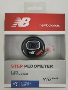 New Balance Via Move Step Pedometer Counter Exercise Timer Fitness Series *New*