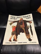 Saturday post Puppy in the Pocket The Gift  ROCKWELL  JANUARY  25 1936