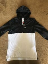 Men's Under Armour UA Sport style Anorak Jacket  Black/White Medium $60