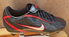 Nike Outdoor Soccer Cleats NEW  Rio II Black/Silver/Red  Mens Size 11