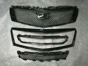 For Cadillac XTS 2013-2017 Radiator Front Upper + Lower Grilles With Outer Frame